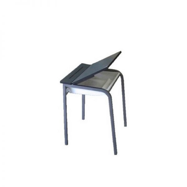 desk with tote