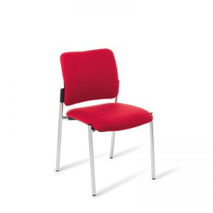 Red polo chair