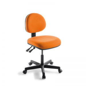 orange office chair