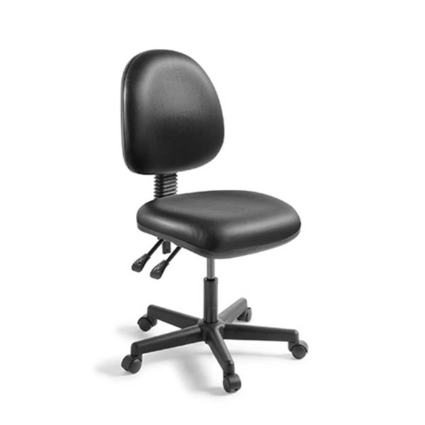 black 2 lever office chair