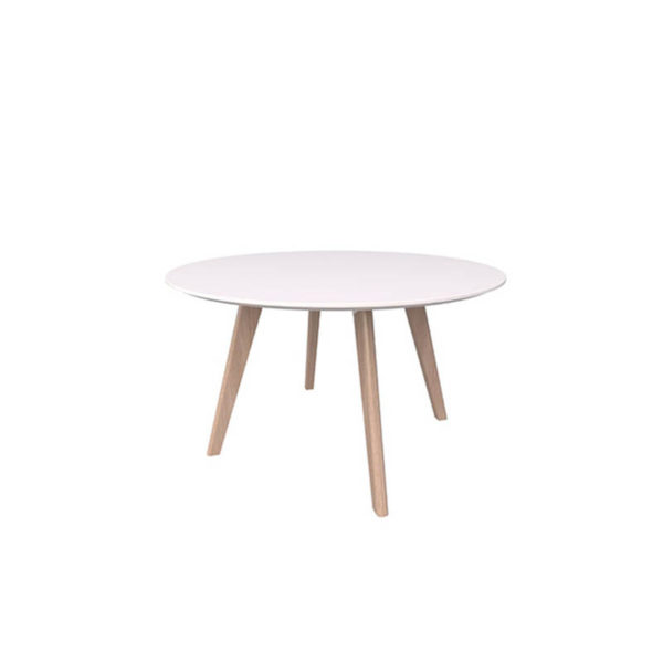 meeting table white top timber base