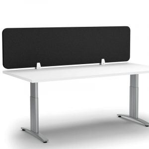 Desk with Black Screen