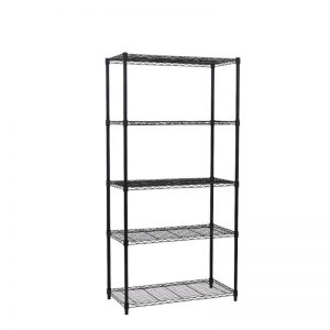 Black Metal Shelving unit