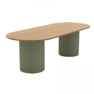 boardroom table with round base