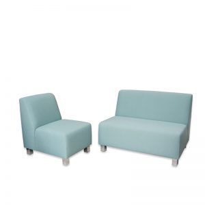 single and 2 seater sofa no arms